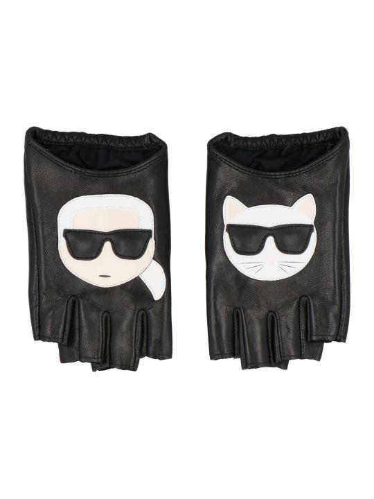 Karl Lagerfeld 'ikonik' Gloves