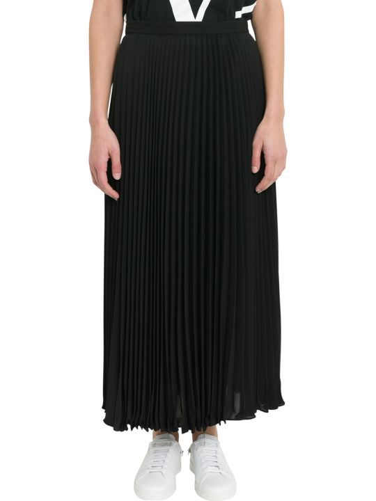 Valentino Midi Pleated Skirt