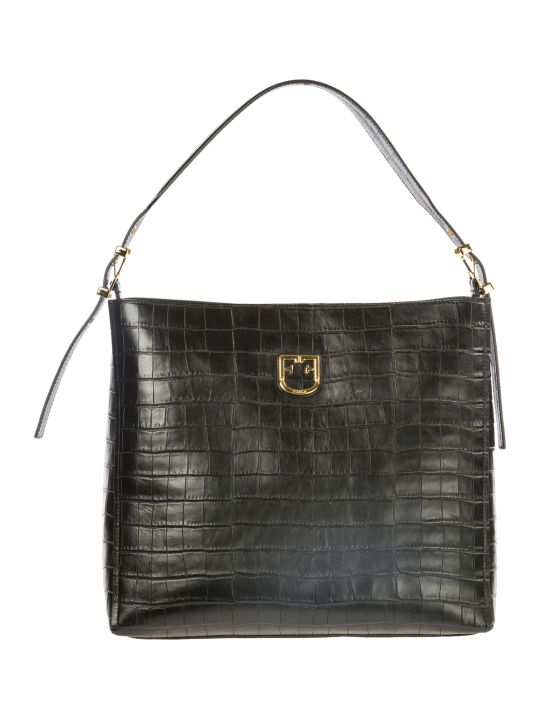 Furla  Leather Shoulder Bag Belvedere