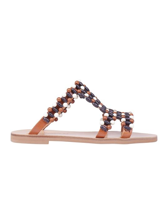 Elina Linardaki Choco Chips Sandals
