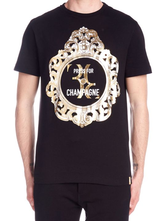 Billionaire 'press For Champagne' T-shirt