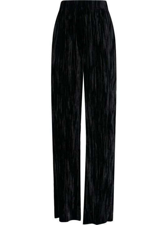 Balenciaga Flared Velvet Pants