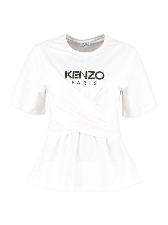 Kenzo Crew-neck Cotton T-shirt