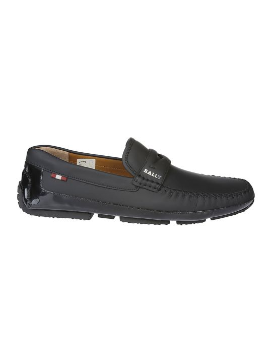 Bally Logo Loafers