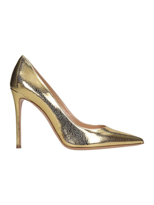 Lerre Pumps In Gold Leather