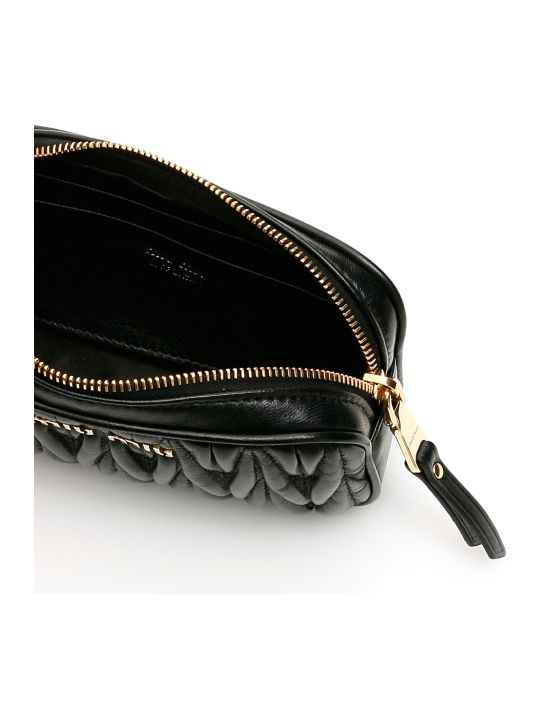 Miu Miu Mini Matelasse' Nappa Belt Bag
