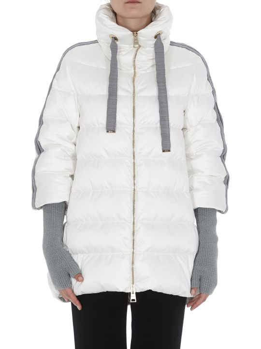 Herno Down Jacket With Cuffs Detail Resort Collection