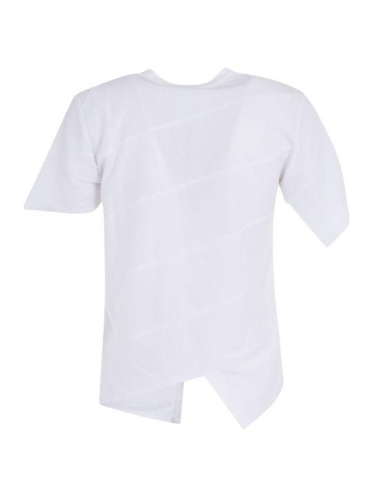 Comme des Garçons Comme des Garçons Asymmetric Hem Short-sleeved T-shirt