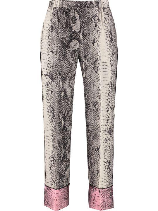 N.21 Printed Silk Pants