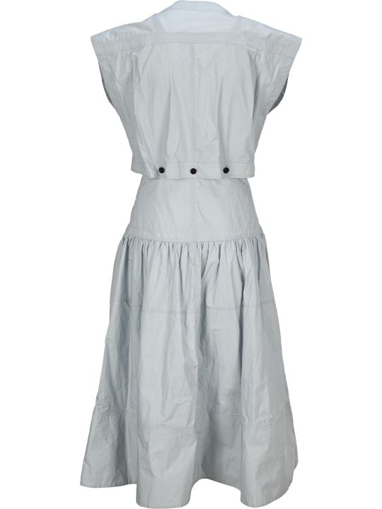 Proenza Schouler Short Sleeves Buttoned Dress