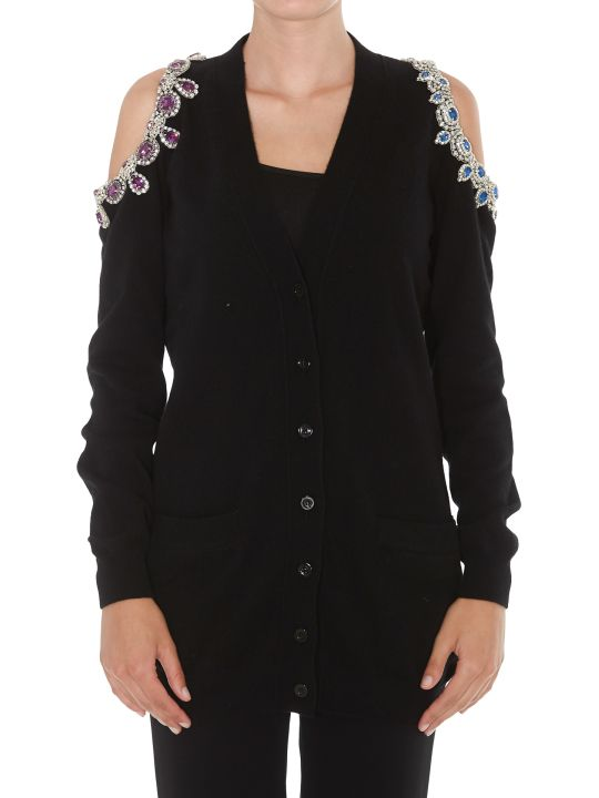 Moschino Cut Out Cardigan