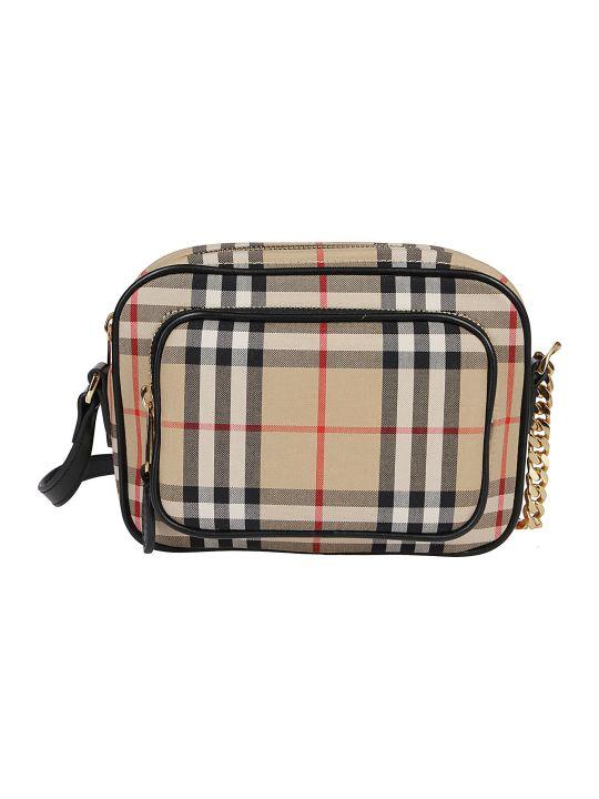 Burberry Check Camera Bag