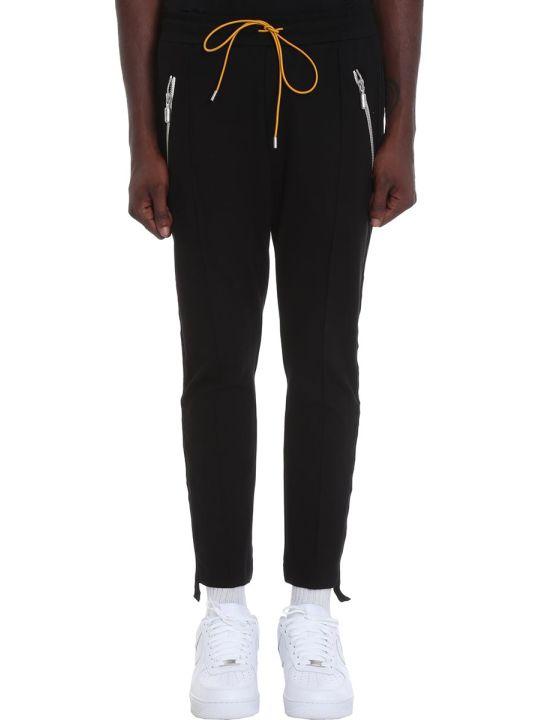 Rhude Pants In Black Wool