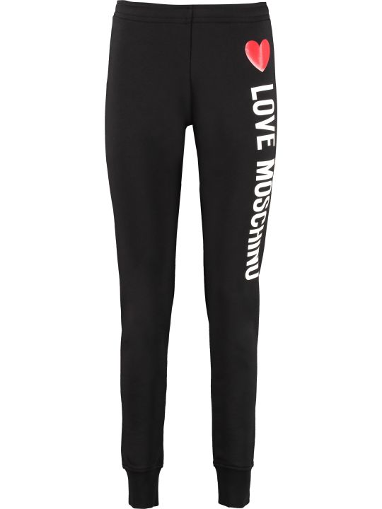 Love Moschino Printed Sweatpants