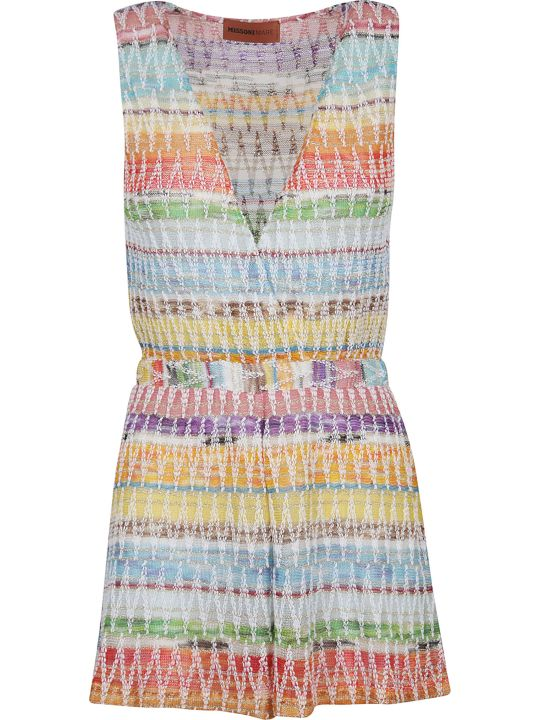Missoni Patterned Playsuit