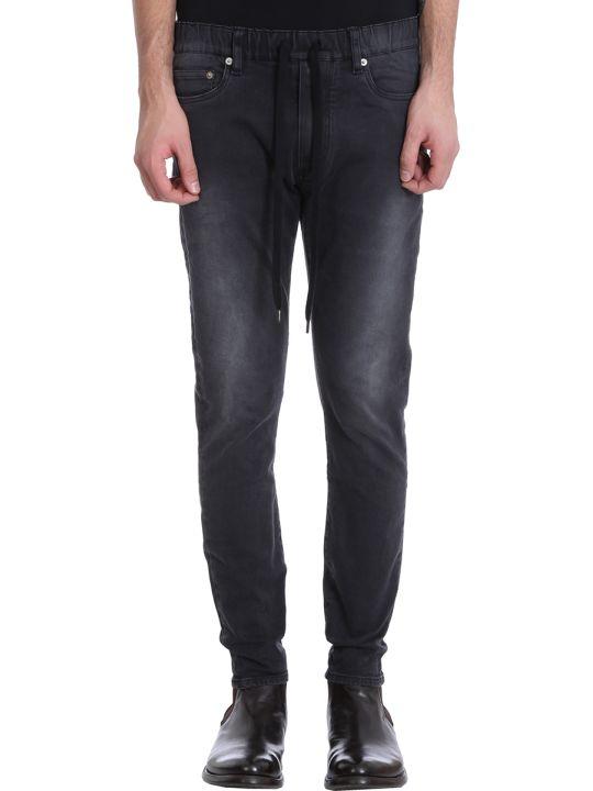 Attachment Black Denim Jeans