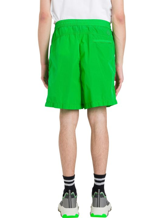 Moncler Genius Shorts With Logo Patch
