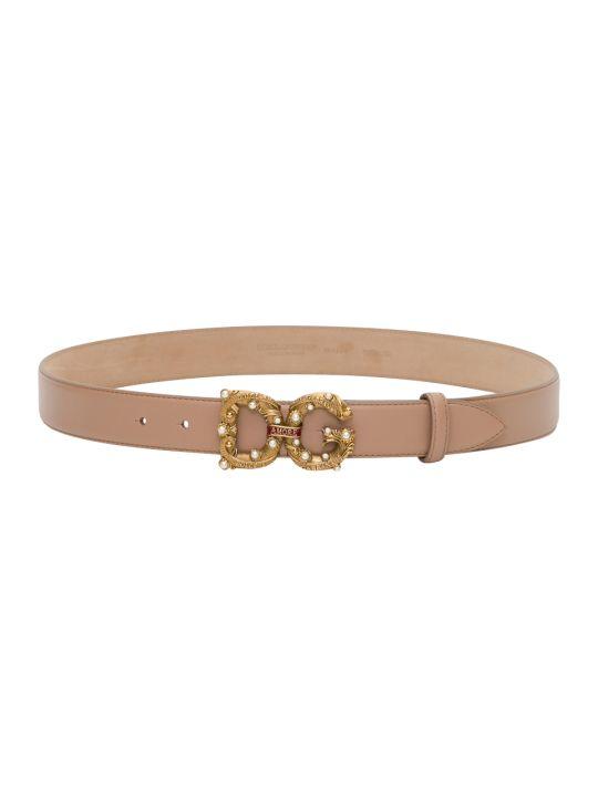 "Dolce & Gabbana ""dg Amore"" Belt"