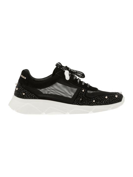Philipp Plein Lo Top Crystal Sneaker