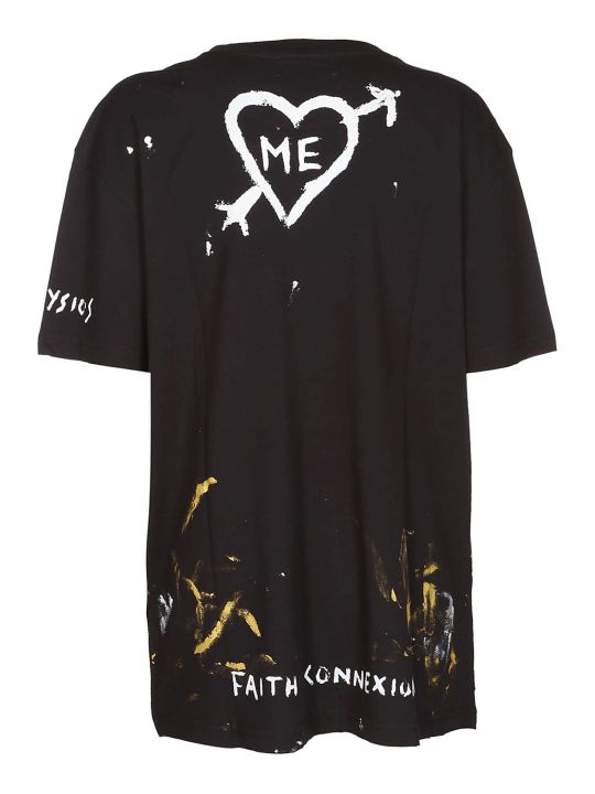 Faith Connexion Abstract Print T-shirt