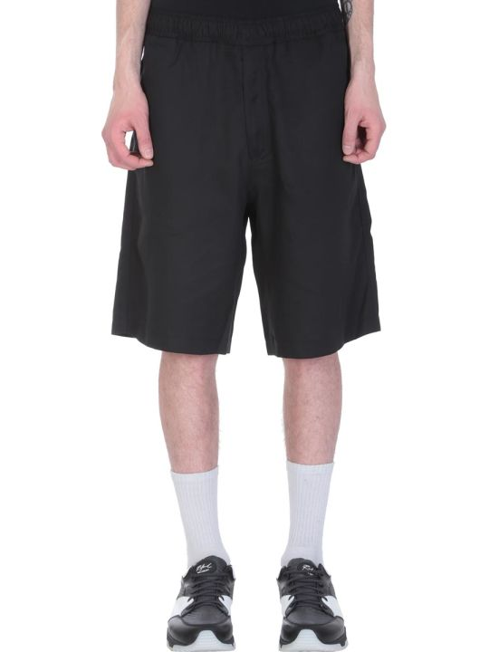 Our Legacy Black Cotton Shorts