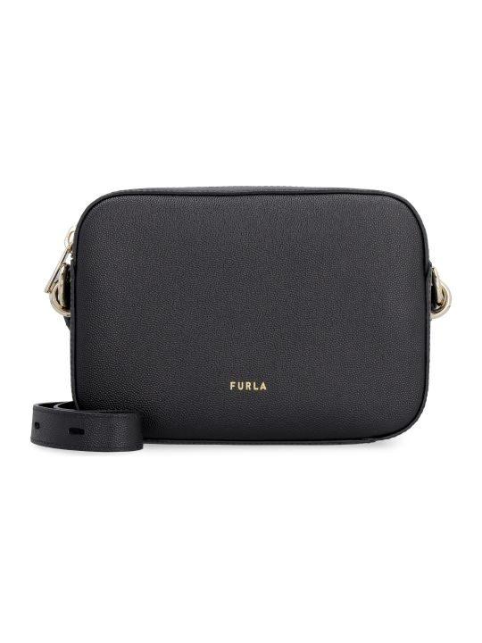 Furla Furla Block Leather Crossbody Bag