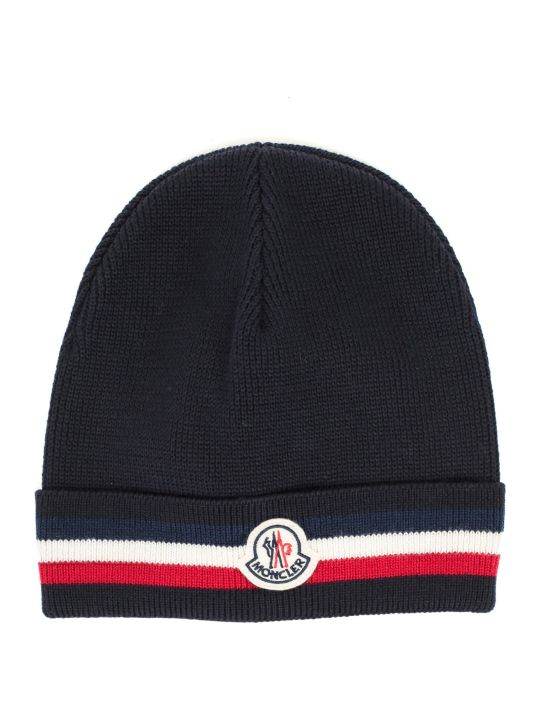 Moncler Hat W/logo And Band