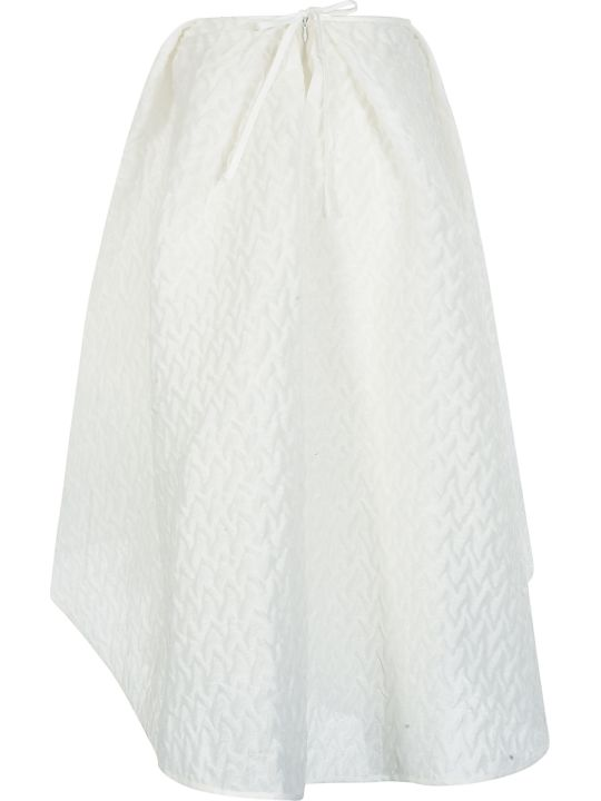 Cecilie Bahnsen Textured Detail Oversized Skirt