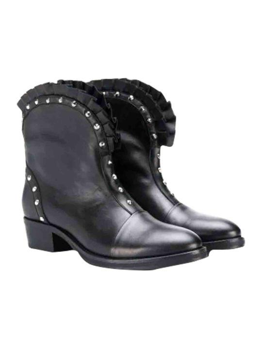 Balmain Boots With Studs