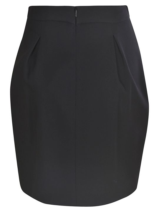 Versace Rear Zip Skirt