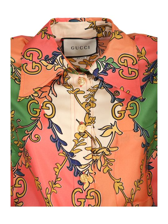 Gucci Silk Twill Dress