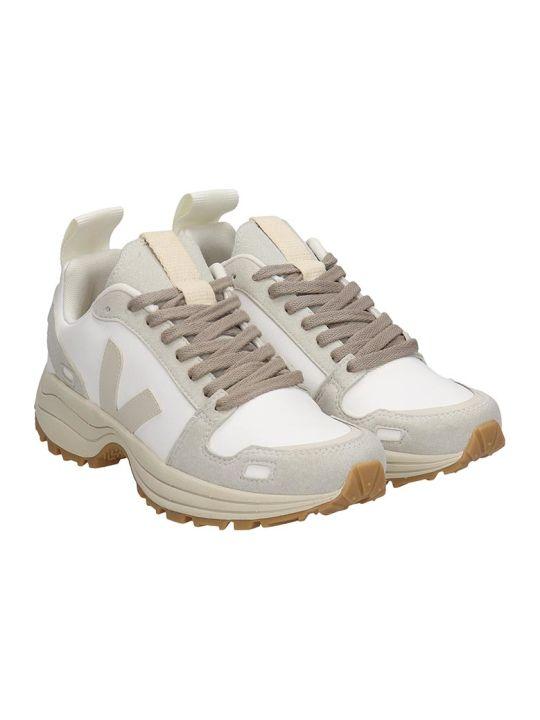 Veja Veja Hiking Sneakers In White Leather