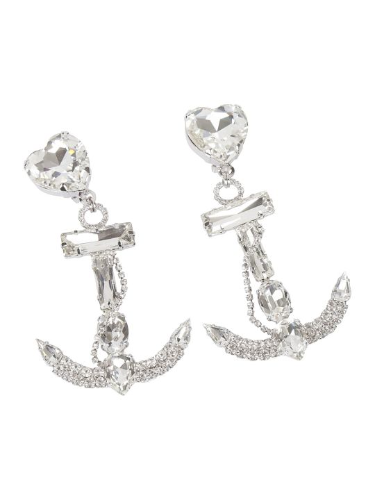 Alessandra Rich Anchor Statement Earrings