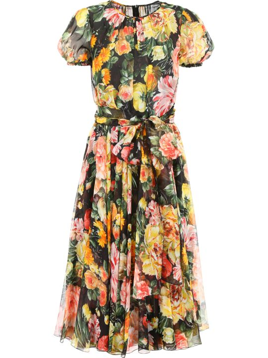 Dolce & Gabbana Floral-prnted Dress