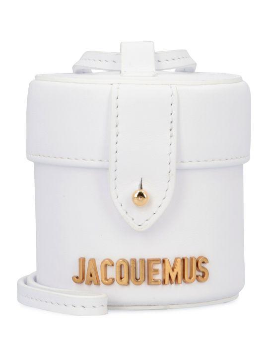 Jacquemus Le Vanity Mini Leather Crossbody Bag