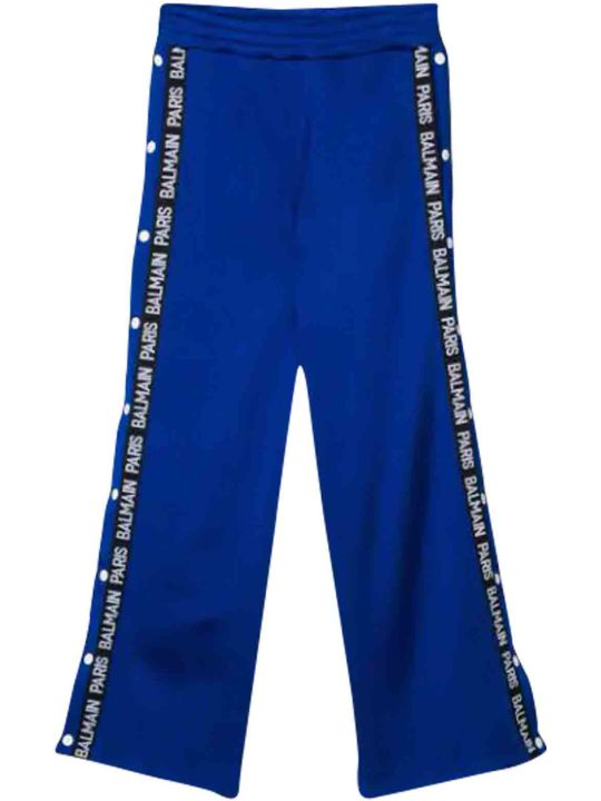 Balmain Sport Trousers With Side Bands