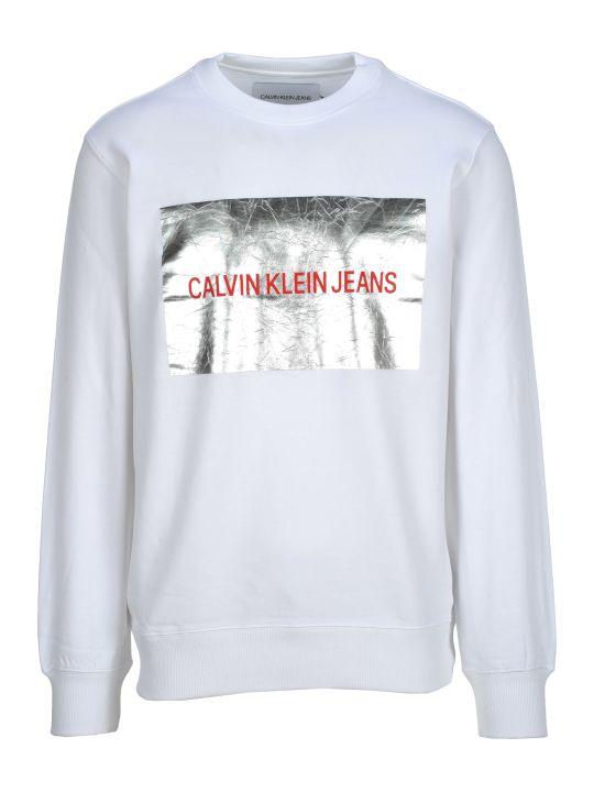 Calvin Klein Jeans Fleece Logo Front