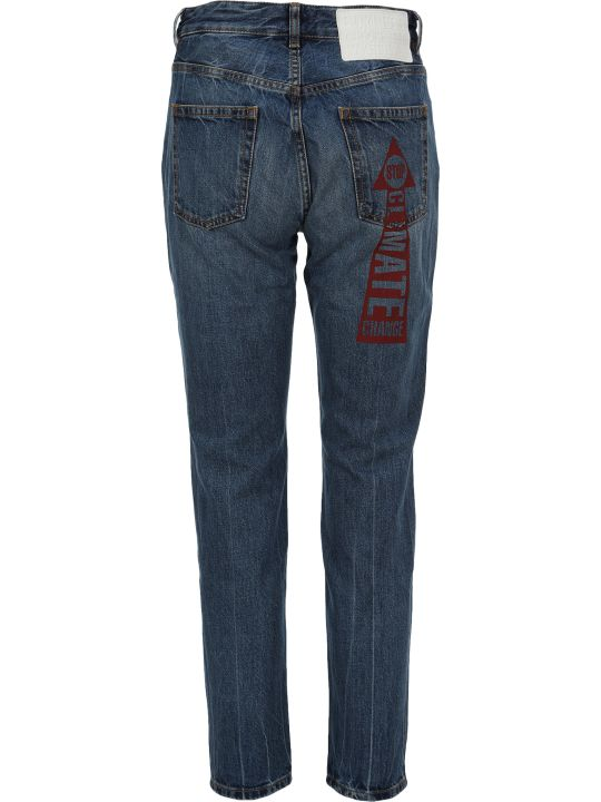 Vivienne Westwood Anglomania Anglomania Printed Jeans