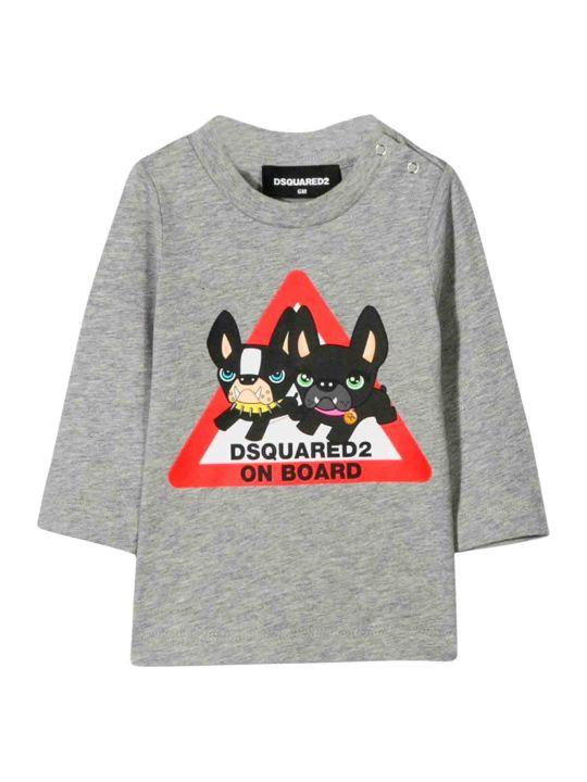 Dsquared2 Dsquared2 Gray Kids T-shirt