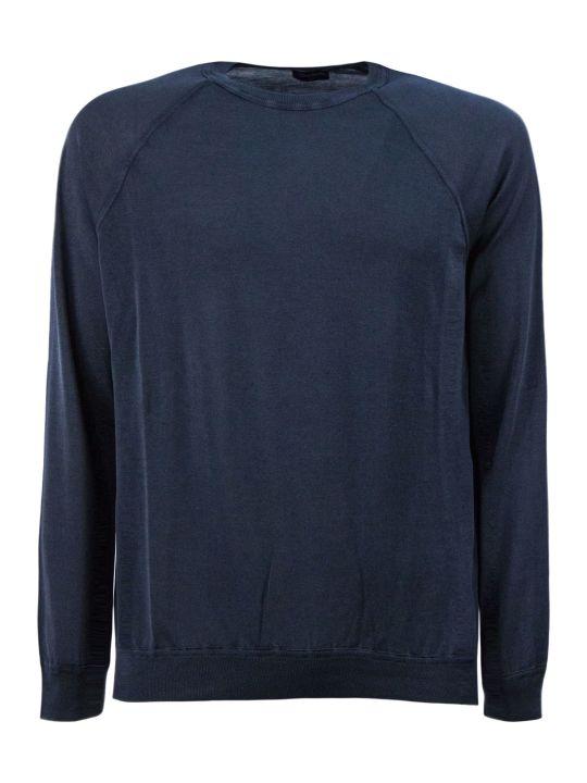 Drumohr Graffiti-tone Cotton Sweater