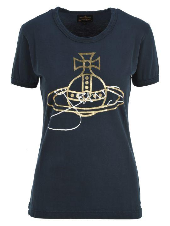 Vivienne Westwood Anglomania Anglomania Logo And Signature Print T-shirt