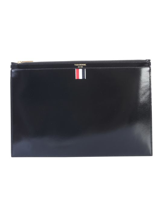 Thom Browne Leather Pouch