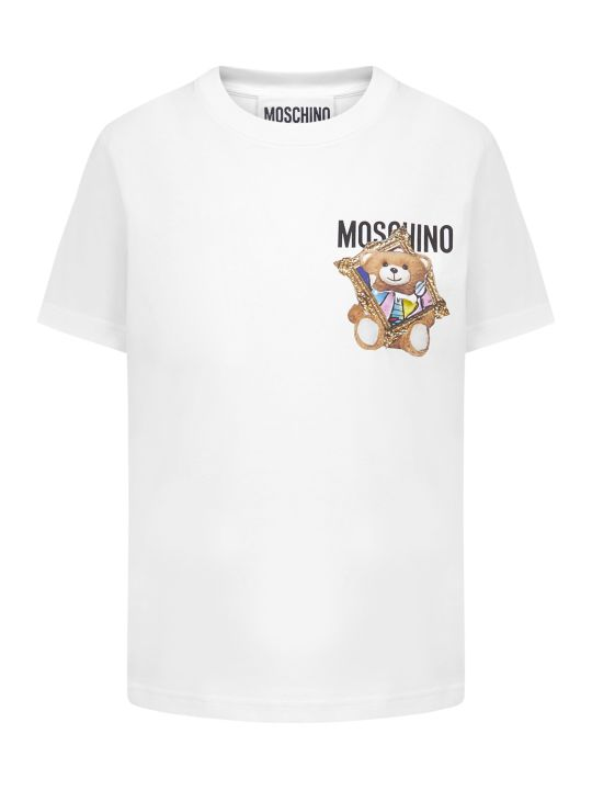 Moschino Frame Teddy Bear T-shirt