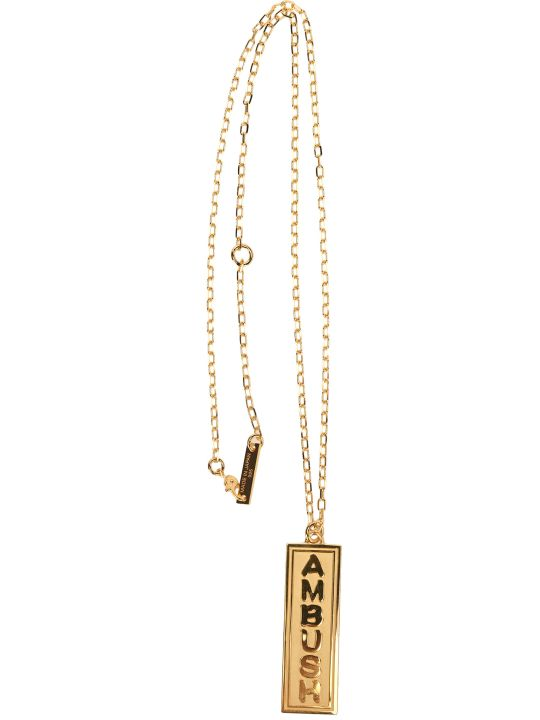 AMBUSH Logo Charm Necklace
