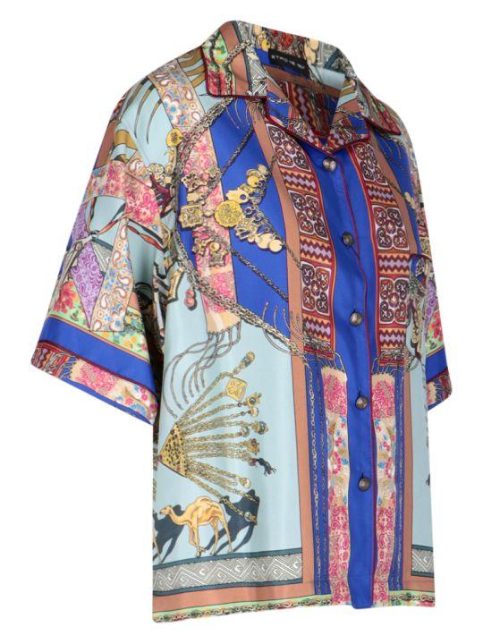 Etro Foulard Pattern Shirt