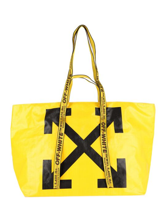Off-White Off White Commercial Arrow Logo Tote