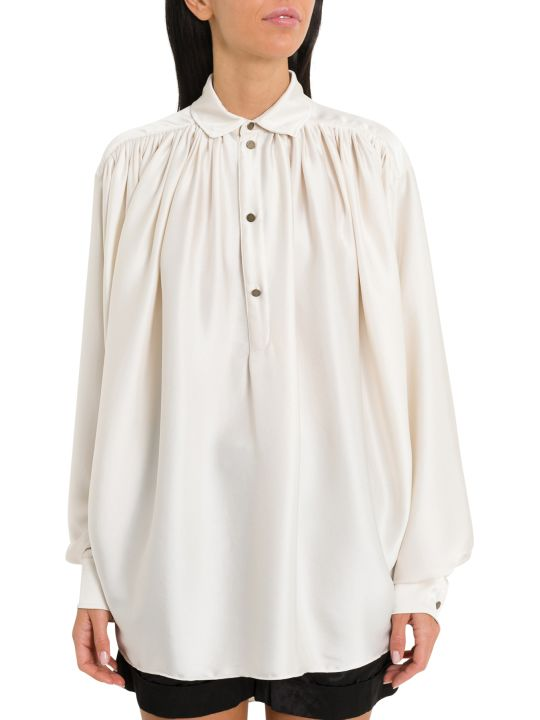 Philosophy di Lorenzo Serafini Oversized Satin Blouse