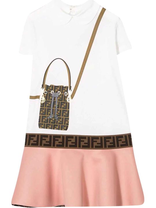 Fendi Two-tone Dress