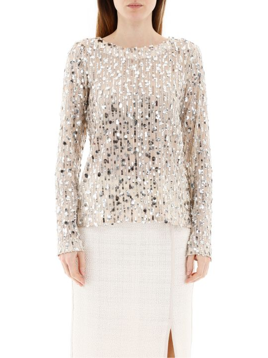 In The Mood For Love Mame Sequined Top