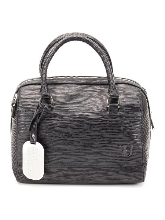 Trussardi Trussardi T-easy City Saffiano Faux Leather Bag